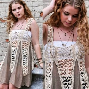 Luxury Collection Crochet Tunic